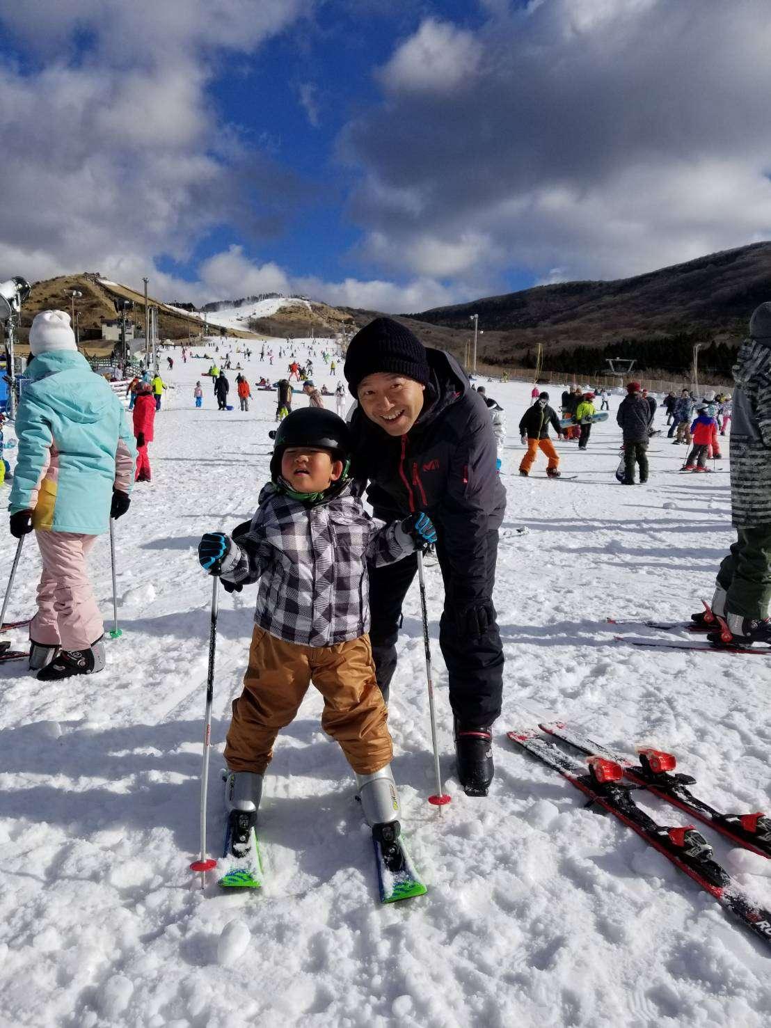 image スキー デビュー!